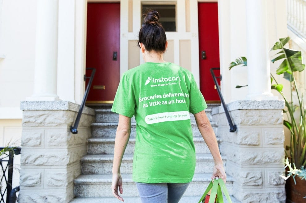 delivery with Instacart